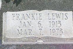Frankie <i>Lewis</i> Powell