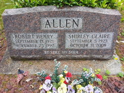 Shirley Claire <i>Olin</i> Allen