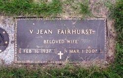 Jean <i>Maynard</i> Fairhurst