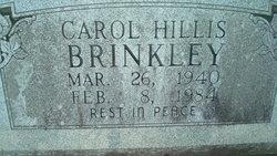 Carol Geneva <i>Hillis</i> Brinkley