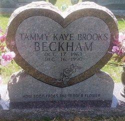 Tammy Faye <i>Brooks</i> Beckham