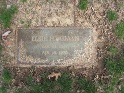Elsie H. Adams