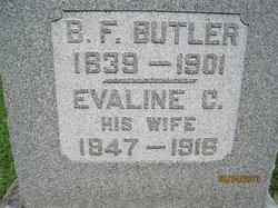 Evaline Carr <i>Hale</i> Butler