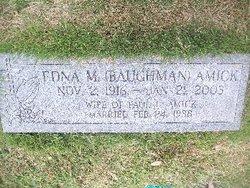 Edna M. <i>Baughman</i> Amick