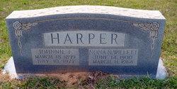 Johnnie F. Harper