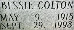 Bessie Mae <i>Wright</i> Colton