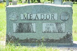 Dora May <i>Wardlaw</i> Meador