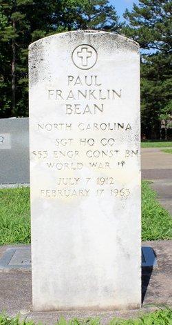 Paul Franklin Bean