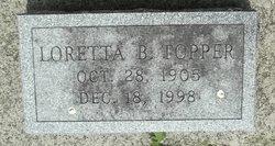 Loretta Agatha <i>Brady</i> Topper