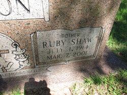 Ruby O. <i>Shaw</i> Barton