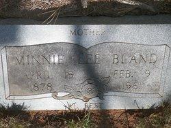 Minnie <i>Lee</i> Bland