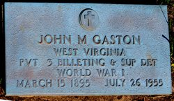 Pvt John Marion Gaston