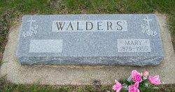 Mary <i>Arigner</i> Walders