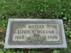 Lizzie Effie <i>McGregor</i> McCombs