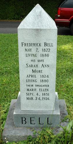 Sarah Ann <i>More</i> Bell
