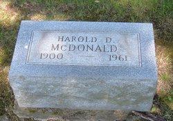Harold D. McDonald