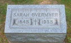 Sarah Rebecca <i>Snider</i> Overmyer