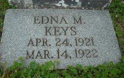 Edna M Keys
