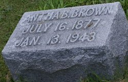 Antha B <i>Vandeventer</i> Brown