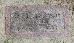 Anna <i>Christopherson</i> Iverson
