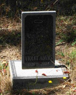 Violet May Adams