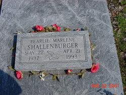 Pearlie Marlene <i>Sliger</i> Shallenburger
