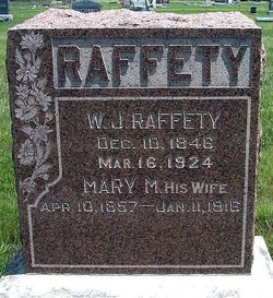 Mary Mathilda <i>Groves</i> Rafferty