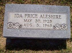 Ida J <i>Culver</i> Aleshire