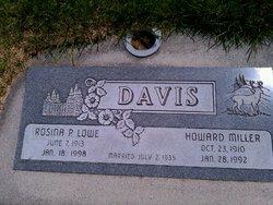 Rosina Pearl <i>Lowe</i> Davis