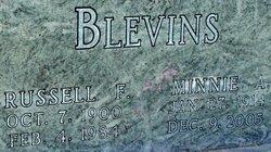 Minnie Alvenia <i>Ermert</i> Blevins
