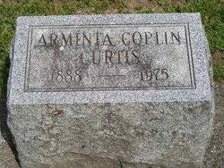 Arminta <i>Coplin</i> Curtis