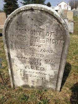 Pvt James F Albright