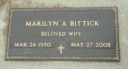 Marilyn A. <i>Johnson</i> Bittick