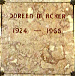 Doreen Mae <i>Willey</i> Acker