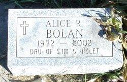 Alice R. <i>Anderson</i> Bolan