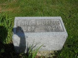 Sarah Catherine <i>Rogers</i> Bailey
