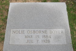 Nolie <i>Osborne</i> Boyer