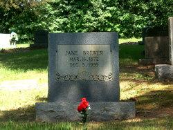 Mary Jane Jane <i>Brewer</i> Brewer