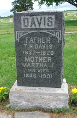 Martha J. <i>Carty</i> Davis