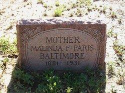 Malinda Francis <i>Massey</i> Baltimere