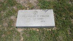 Franklin P Cross