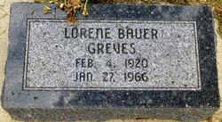 Lorene Marie Wilhelmina <i>Bauer</i> Greves