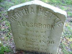Bertha Hettie Allsbrook