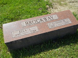 Ella Leah Ida <i>Tschantz</i> Brockway