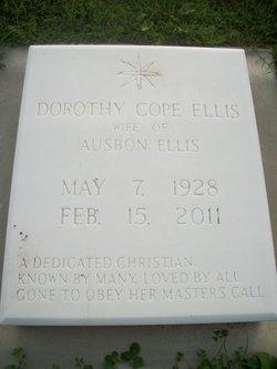 Dorothy <i>Cope</i> Ellis
