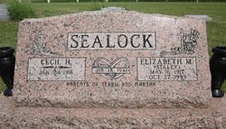 Elizabeth M <i>Staley</i> Sealock