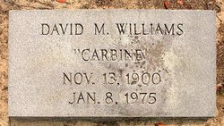 David Marshall Carbine Williams