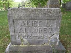 Alice Louise <i>Brownson</i> Allured