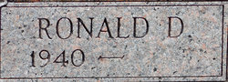 Ronald D. York