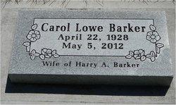 Carol Lowe Barker